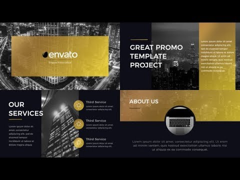 Gold Presentation by Treedeo| After Effects Product Promo Template