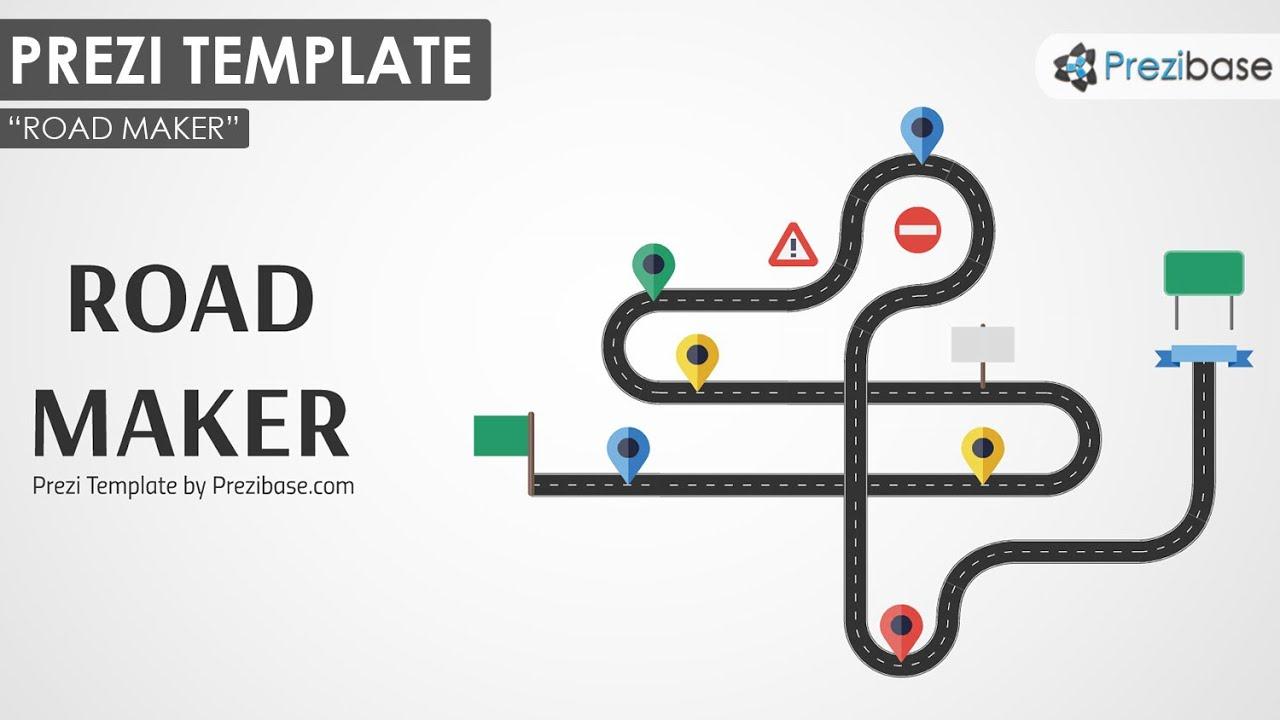 Road Maker - Prezi Template - YouTube