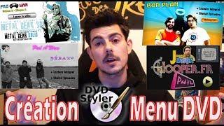Crée un menu DVD personnalisé avec DVDStyler !