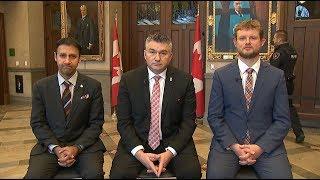 MPs discuss impact of Scheer's resignation