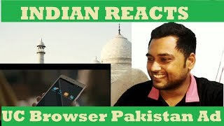 Indian Reacts to UC Browser Ad | Pakistani TVC | #UCLifeGoesOn