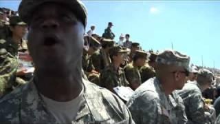 061. Fuji Live Fire Demonstration / 富士総合火力演習を在日米陸軍が見学