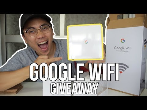 GIVEAWAY GOOGLE WIFI - Vlog #46