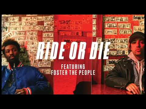 The Knocks - Ride Or Die (feat. Foster The People) [Official Instrumental]
