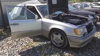 Двигатель 104.992 + АКПП  на Mercedes W124 E320