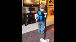 2 year old singing Hunter Hayes and Jason Mraz