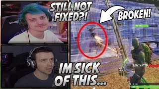 Ninja & Streamers Are SICK Of This Game Breaking Bug That's RUINING Fortnite For Them!