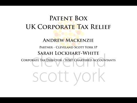 Patent Box - Profiting from innovation