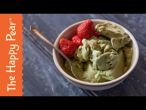 Matcha Ice Cream | 3 INGREDIENTS VEGAN