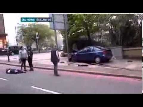 ►►► [UPDATE] London attack: Killer Footage Woolwich Terrorist Attack In London