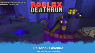 Roblox Deathrun: Poisonused Avenue New Soundtrack 2018