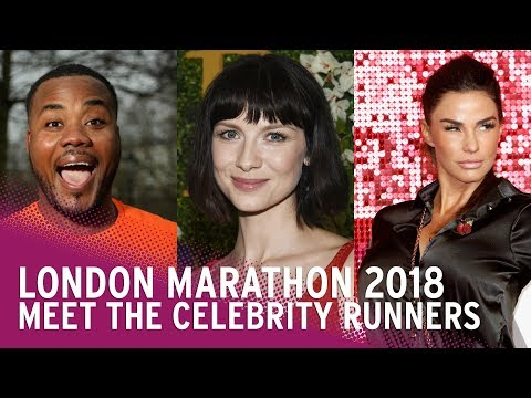 London Marathon 2018 - Meet the celebrity runners