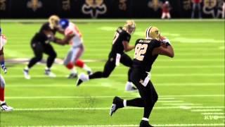 Madden NFL 15 - New Orleans Saints vs New York Giants Gameplay [HD]