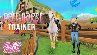 Star Stable Online - Free horse trainer?! Let's test it!