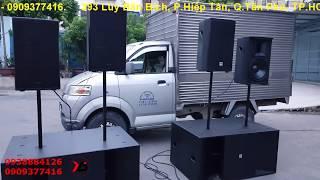 Dàn âm thanh sân khấu VIP-full 30 bass neo, treble neo+sub hầm kép 5 tấc