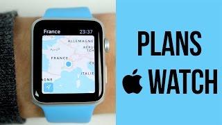 Apple Watch : Le fonctionnement du GPS avec Plans