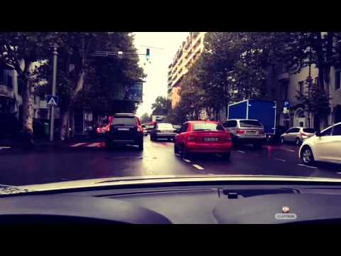 BMW 750i in Tbilisi streets )