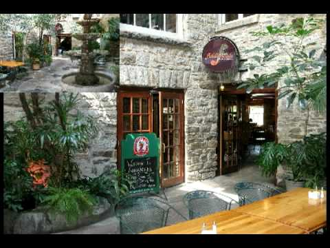 Perth Ontario Restaurant Fiddleheads Bar And Grill Perth Ontario Youtube