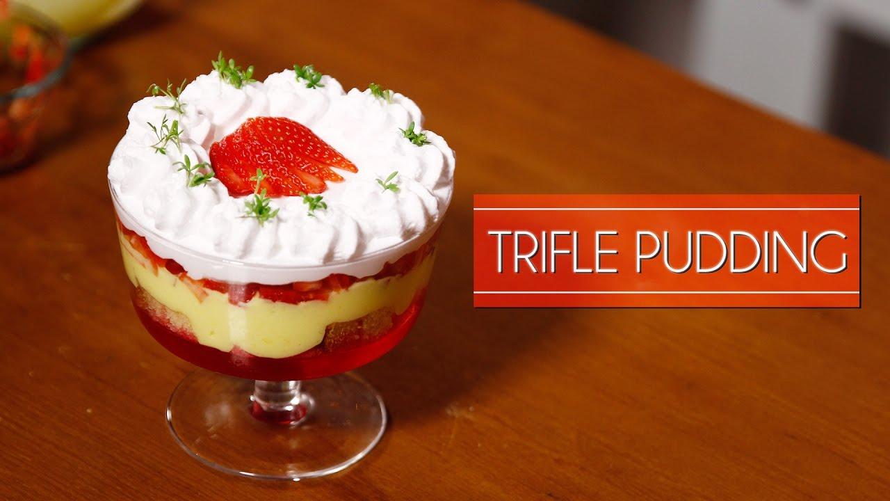 Eggless Trifle Pudding | Meghna's Food Magic | Pure Magic #4