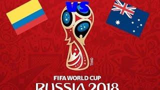 Mundial Rusia 2018 - Colombia vs Nueva Zelanda - Fase de Grupos