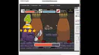 Chibi Knight: The Purple Knight Boss Battle