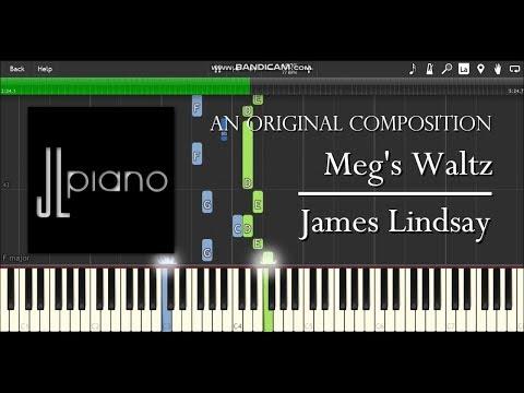 Meg's Waltz - James Lindsay (Synthesia Piano Solo)