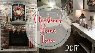 CHRISTMAS HOME TOUR 2017 | CHRISTMAS DECOR TOUR | CookCleandAndRepeat