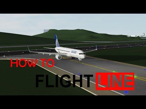 How to Flightline (Roblox's Flight Simulator)
