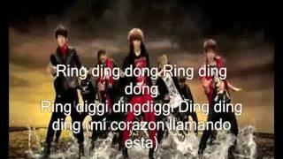 SHINee ring ding dong-sub español