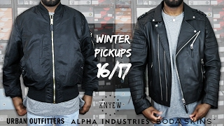 WINTER CLOTHING PICKUPS PART 1 | feat. Urban Outfitters, Alpha Industries, Boda Skins