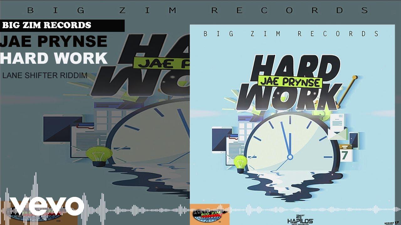 Jae Prynse - Hard Work (Official Audio)