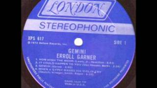 Erroll Garner - When a gypsy makes his violin cry.wmv