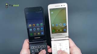 Обзор Flipdroid Samsung Folder 2  SM-G1650 vs. SM-G1600!