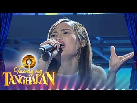 Tawag ng Tanghalan: Reyssa Luntayao sings