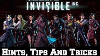 How to Complete Invisible Inc - Hints and Tips - Loadouts and Basic Movements