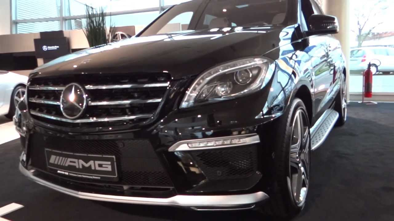 New Mercedes Benz Ml 63 Amg Luxury Youtube