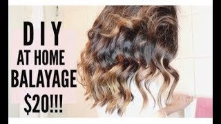DIY Balayage/Ombre Hair at Home! CHEAP & EASY!