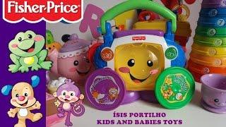 fisher price rdio com cd brinquedos para bebs toys for babies sis portilho