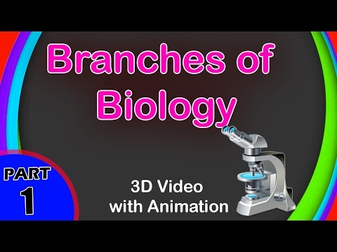 What are the Branches of Biology | Branches of Biology | 9th Class Biology | Class 9 ICSE Biology