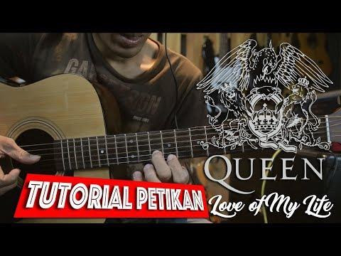 Queen Love Of My Life Full Tutorial Gitar Very Slow
