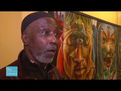 Artist Michael (ALKEMI) Jordan At Meet The Artists XXX Gala