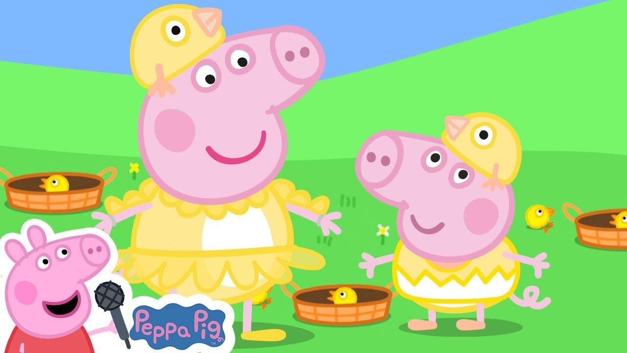 Peppa Pig Birdy Birdy Woof Woof Song | Peppa Pig Songs | Peppa Pig Nursery Rhymes & Kids Songs