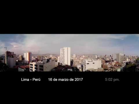 Timelapse en Lima-Perú 16 03 2017