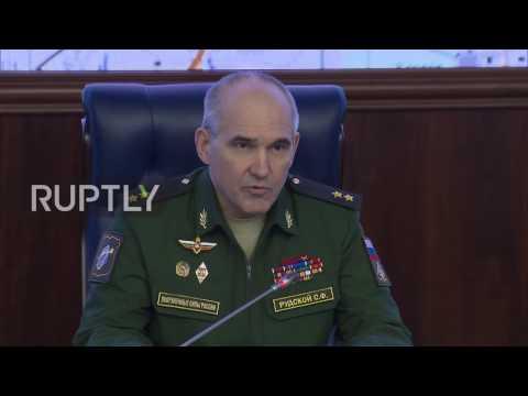 Russia: Militants use toxic agent on civilians in Aleppo - MoD