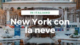 [HD] New York Eyes - New York con la neve! [ITA]