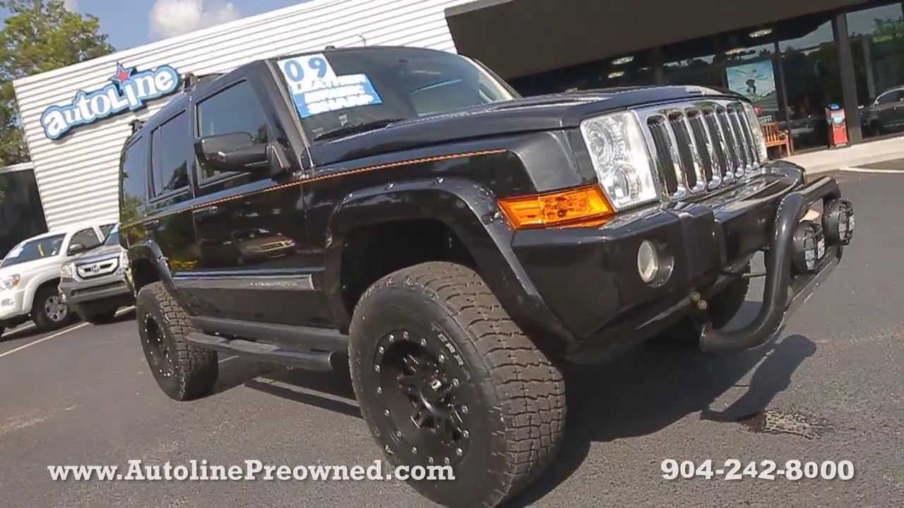 Autoline Preowned 2009 Jeep Commander Limited For Sale Used Walk Around  Review Jacksonville