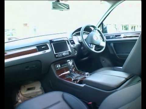 2010 VW Touareg V6 TDI BlueMotion UK drive
