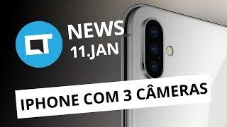 Samsung vaza visual do S10; iPhone 11 terá três modelos, diz jornal [CT News]