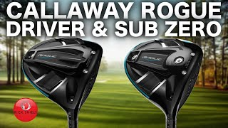 NEW CALLAWAY ROGUE DRIVERS - RICK SHIELS