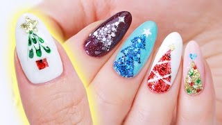 Christmas Tree Nail Art Designs | 5 Easy Ways!